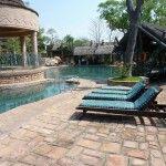 Swimming pool at hotel