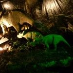 Triceratops and some small ones