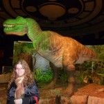 T-rex showing of